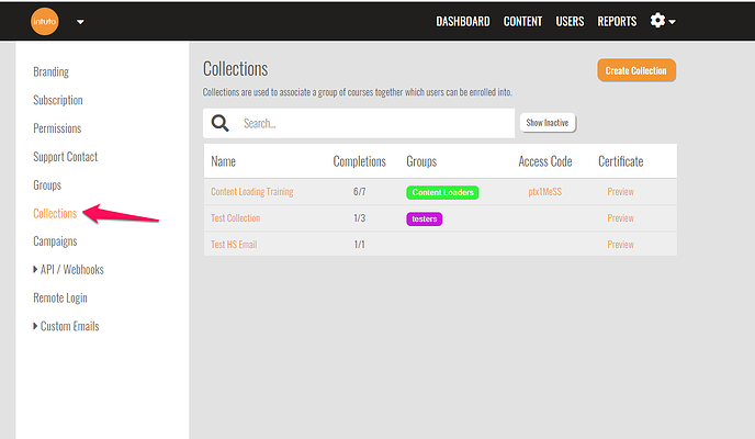 collections-settings-menu