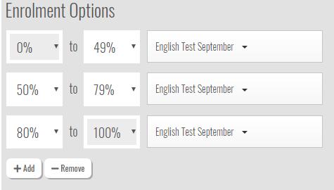 enrolment-options