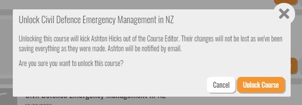 unlock course